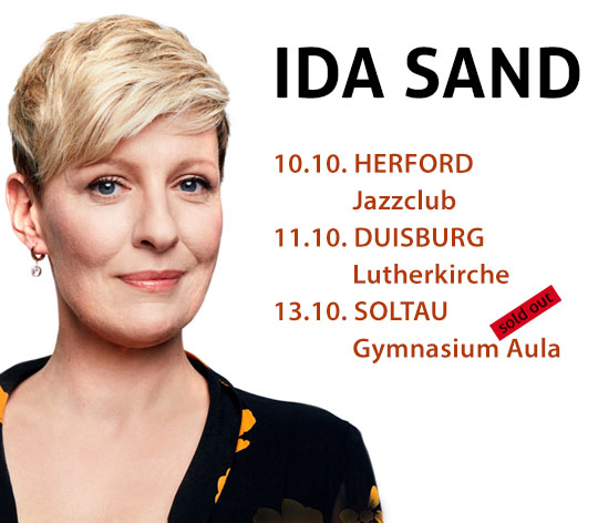 Ida Sand @ Bremme + Hohensee - Tour Dates