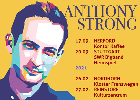 Anthony Strong @ Bremme + Hohensee