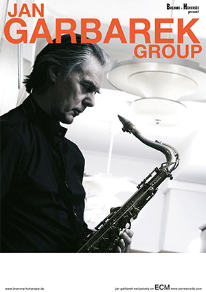 Jan Garbarek - Poster 2018